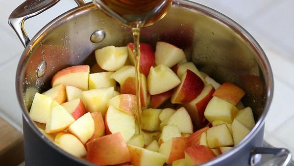 Варить яблоки для похудения